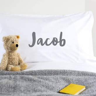 We Are Scamp Personalised Pillowcase For Children