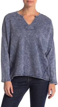 Vintage Havana Exposed Seam Dolman Sleeve Sweater