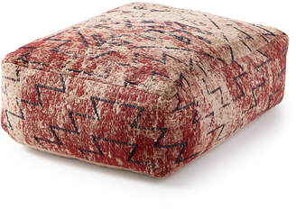 Lucky Brand Closeout! Distressed Chenille Pouf Decorative Pillow Bedding
