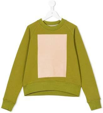 Ioana Ciolacu Kids colour-block sweatshirt