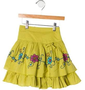 Catimini Girls' Embroidered Skirt