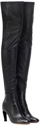 Clergerie Melise over-the-knee leather boots