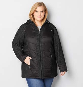 Avenue Tweed Quilt Hooded Jacket
