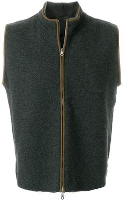 N.Peal zipped gilet jacket