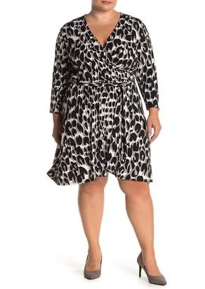 Leota Belted Fit & Flare Dress (Plus Size)