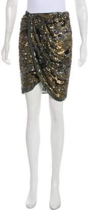 Isabel Marant Sequin Wrap Skirt