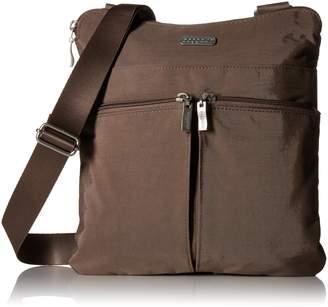 Baggallini Horizon Crossbody Bag Organizational Pockets with Lightweight Nylon