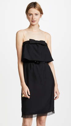 Marc Jacobs Flare Top Dress with Bow & Belt