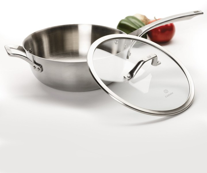 Calphalon Accucore 4 Qt. Chef's Pan with Lid
