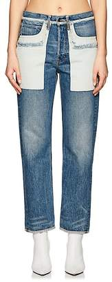 Helmut Lang WOMEN'S INSIDE OUT BOYFRIEND JEANS