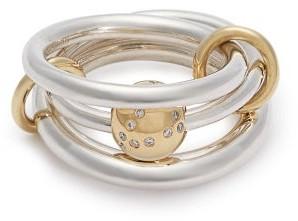 Spinelli Kilcollin Neptune Diamond & Sterling Silver Ring - Womens - Silver