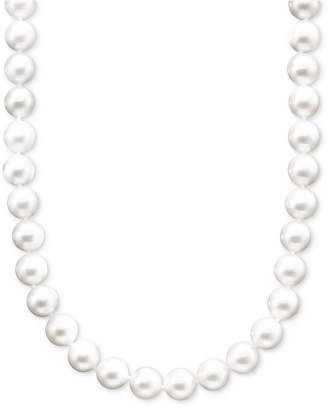 """Belle de Mer Pearl Necklace, 18"""" 14k Gold A+ Akoya Cultured Pearl Strand (8-8-1/2mm)"""