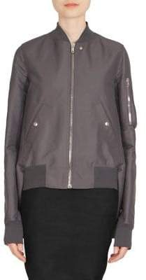 Rick Owens Waterproof Bomber Jacket