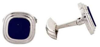 Lapis Cufflinks 18K Lazuli Cufflinks