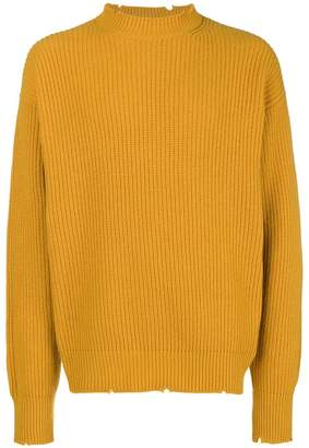 MSGM ribbed knit jumper