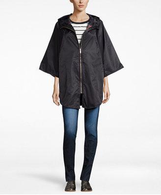 Totes Women's Zip-Front Rain Poncho $65 thestylecure.com