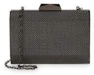 La Regale Textured Mesh Clutch