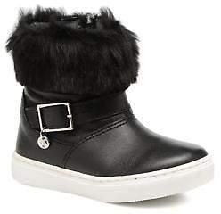 Melania Kids's STIVALE FIBBIA Rounded toe Boots in Black