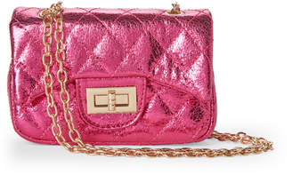 Popatu (Girls 4-6x) Hot Pink Quilted Chain Bag