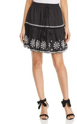 Kate Spade Embroidered Mini Skirt