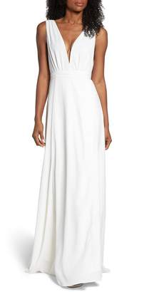 Joanna August Jagger Plunging Wrap Dress