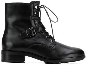 Högl buckled strap cargo boots