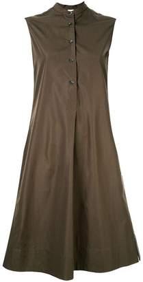 Aspesi front pleat dress