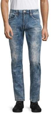 Buffalo David Bitton Ash Faded Stretch Jeans