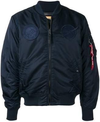 Alpha Industries classic zipped bomber jacket