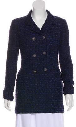 Oscar de la Renta Knit Blazer Tunic