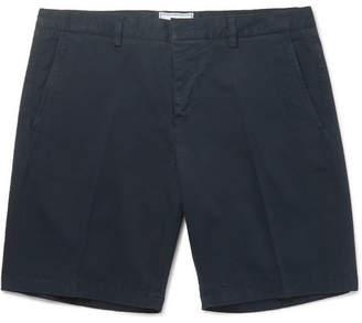 Ami Stretch-Cotton Twill Chino Shorts