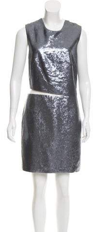 Kaufman Franco Kaufmanfranco Sequin Embellished Dress
