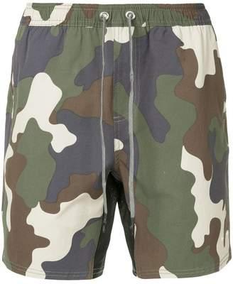 The Upside camouflage shorts