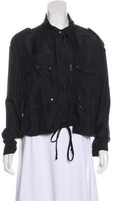 Faith Connexion Silk Casual Zip Jacket