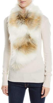 Fabulous Furs Clip Faux-Fur Scarf
