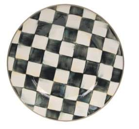 Mackenzie Childs MacKenzie-Childs Courtly Check Enamelware Plate
