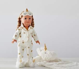 Pottery Barn Kids Gotz Special Edition Unicorn Sleepover Doll - Allie
