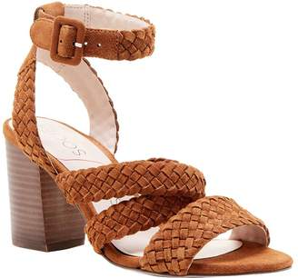 Sole Society Braided Strappy Sandals - Evelina