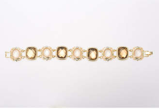 Gloria Vanderbilt Brown Gold-Tone Bracelet