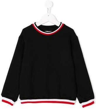 Gaelle Paris Kids web trimmed sweater