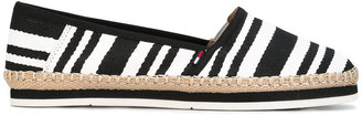 Tommy Hilfiger striped espadrilles $68.57 thestylecure.com