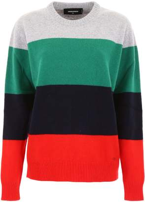 DSQUARED2 Color Block Pullover