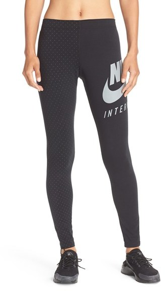 Women's Nike 'International' Graphic Leggings