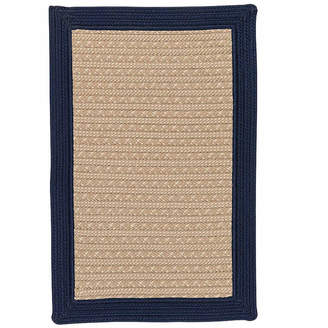 Colonial Mills Patriot Border Reversible Braided Rug
