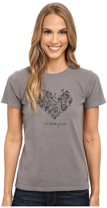 Life is Good Let Love Grow Crusher Tee $24 thestylecure.com