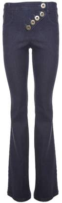 See by Chloe Flared Cotton-denim Jeans
