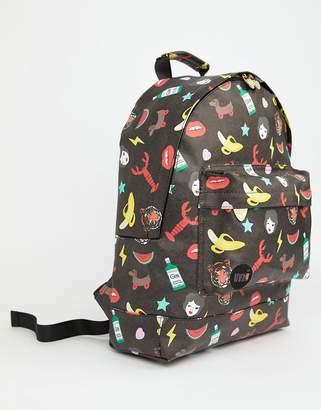 Mi-Pac Mi Pac x Tatty Devine Iconic Print Backpack