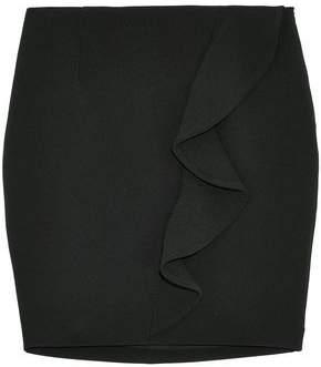 IRO Ruffled Crepe Mini Skirt