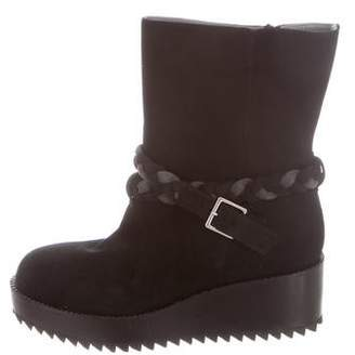 Ritch Erani NYFC Suede Wedge Boots w/ Tags