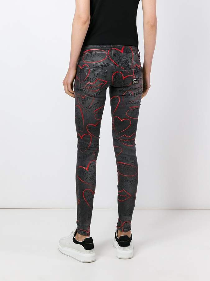 Philipp Plein 'Little Friend' skinny jeans